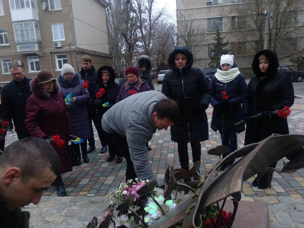В Бердянську відзначили День Гідності та Свободи