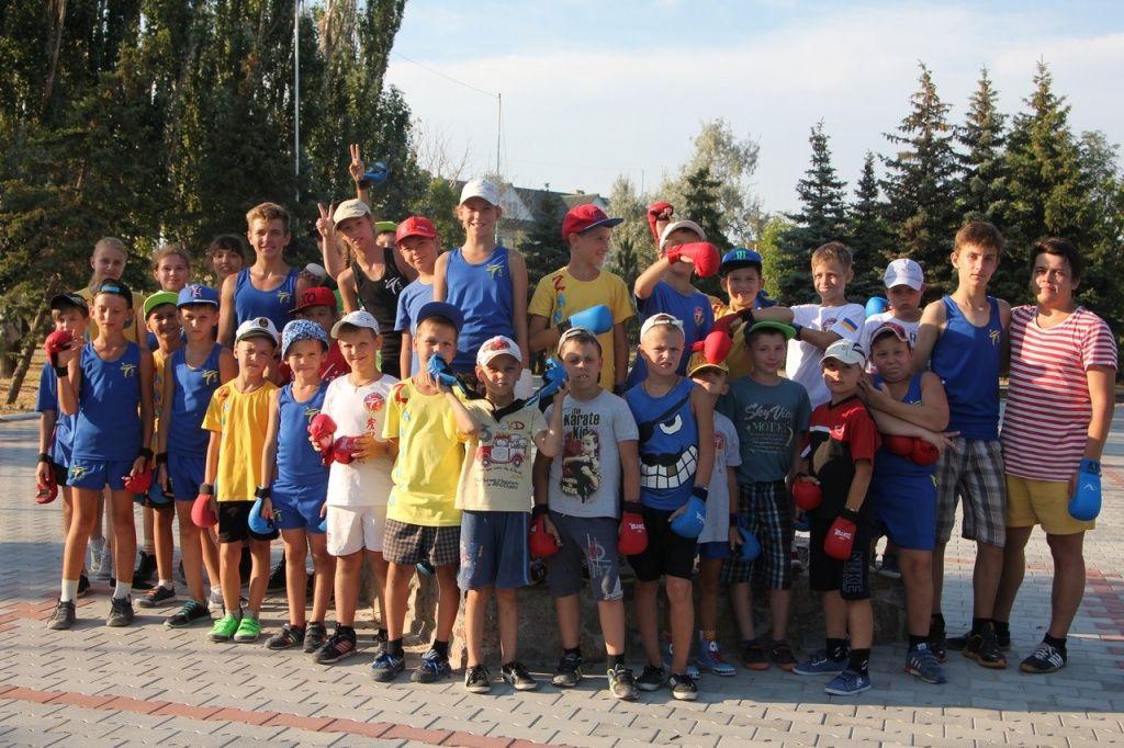 Спортивный клуб «Дзаншин» провел сборы в «Райском уголке»