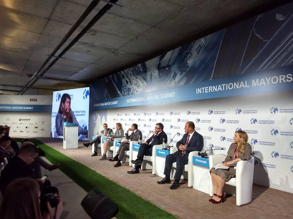 Міський голова Бердянська взяв участь у Міжнародному саміті мерів