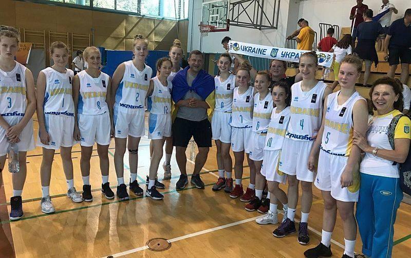 Татьяна Ткаченко и Алиса Щербак выступили на чемпионате Европы по баскетболу U-14