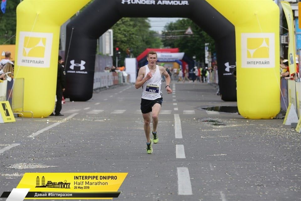 Легкоатлет из Бердянска Руслан Кордобан в числе лучших на «INTERPIPE Dnipro Half Marathon»