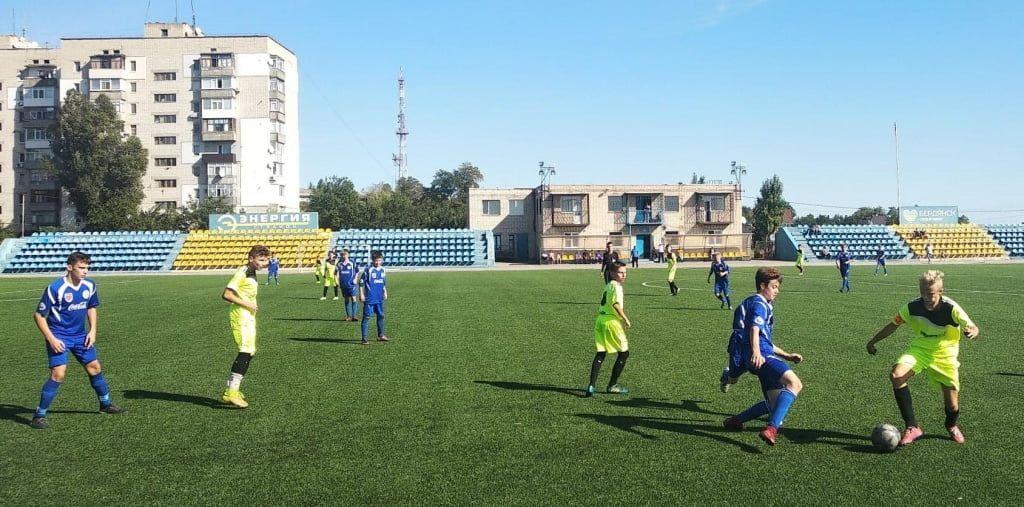 Бердянские юноши провели стартовые туры в чемпионате Украины по футболу