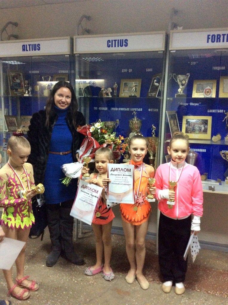 Бердянские гимнастки успешно выступили на турнире «Олимпийские надежды 2015»