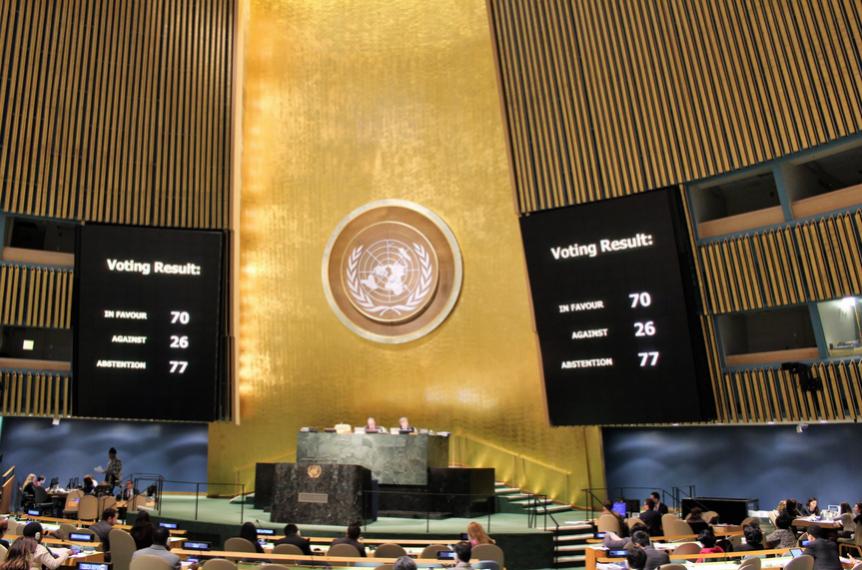 Генассамблея ООН приняла антироссийскую резолюцию оправах человека вКрыму