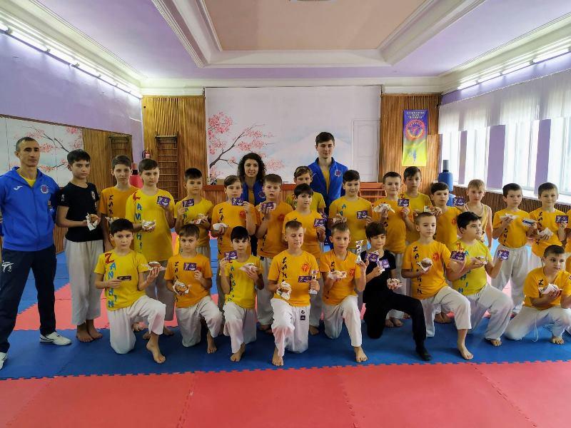 В клубе «Дзаншин» прошел турнир по общефизической подготовке