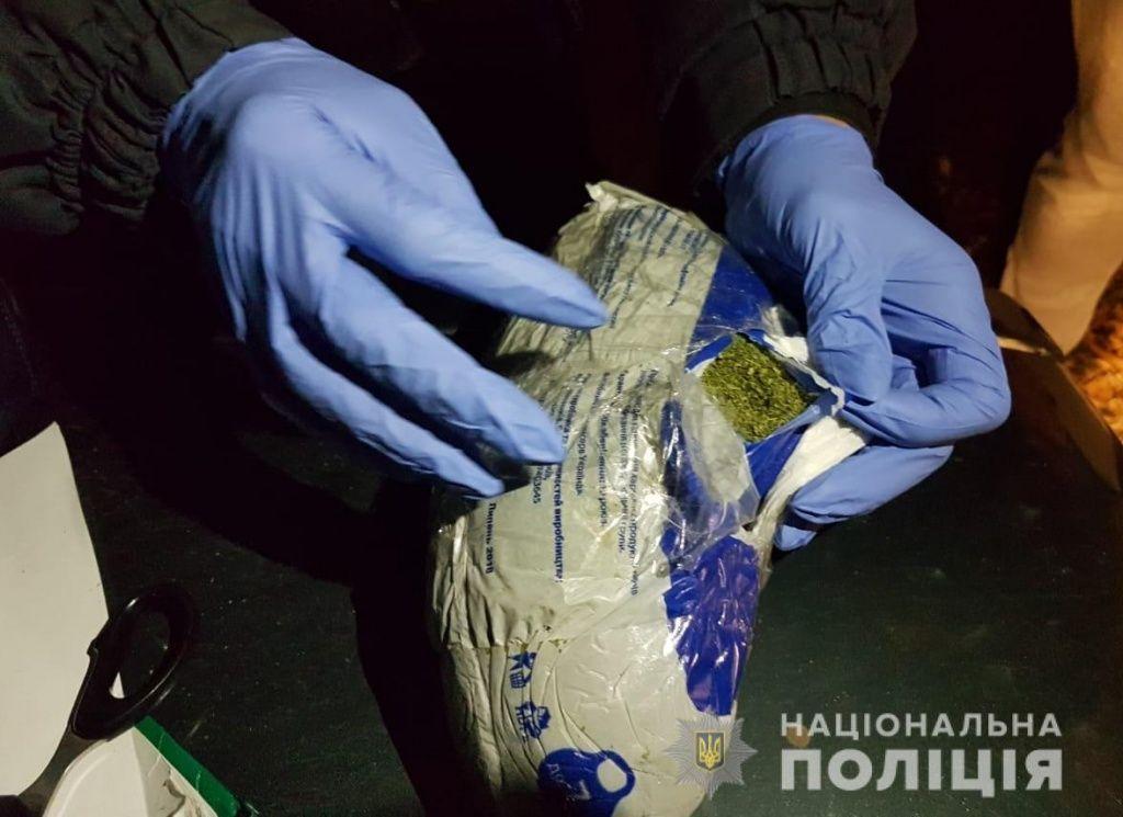 В Бердянську поліцейські вилучили понад кілограм марихуани