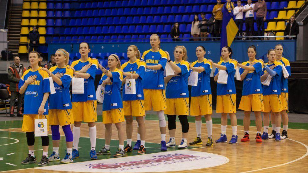 Анна Зарицкая, Ольга Яцковец и Виктория Мирчева в расширенном списке баскетбольной сборной Украины на Евро-2017