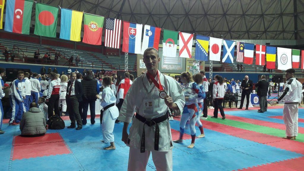 Шурпан Сергей завоевал бронзовую медаль Чемпионата мира