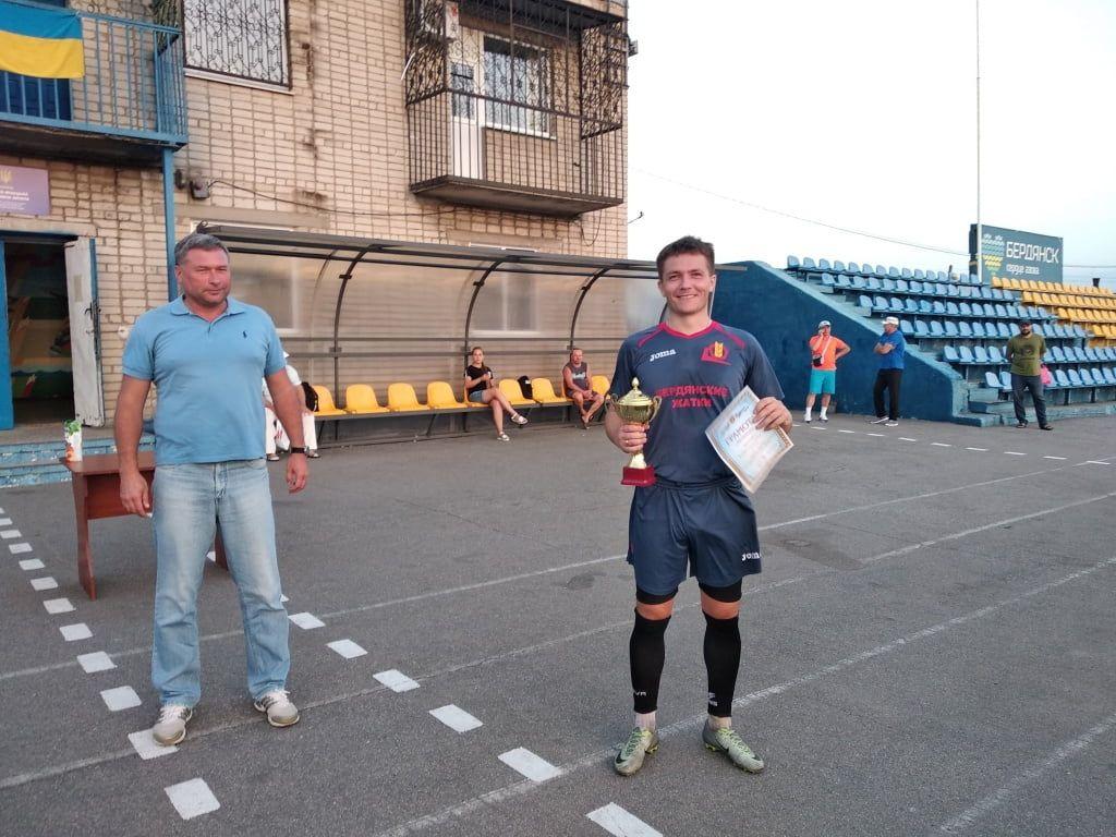 Стекловолокно - победитель футбольного турнира ко Дню независимости Украины