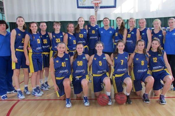 Вероника Космач и Елена Попова в составе кадетской сборной Украины по баскетболу сегодня стартуют на чемпионате Европы