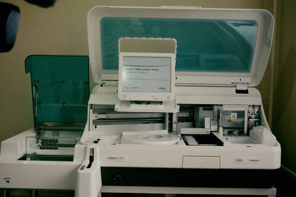В Бердянську встановили автоматизовану систему для імунохемілюмінісцентного аналізу