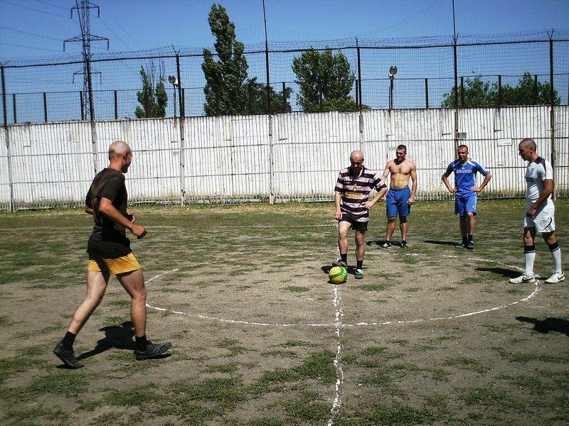 В Бердянській виправній колонії провели турнір з міні-футболу