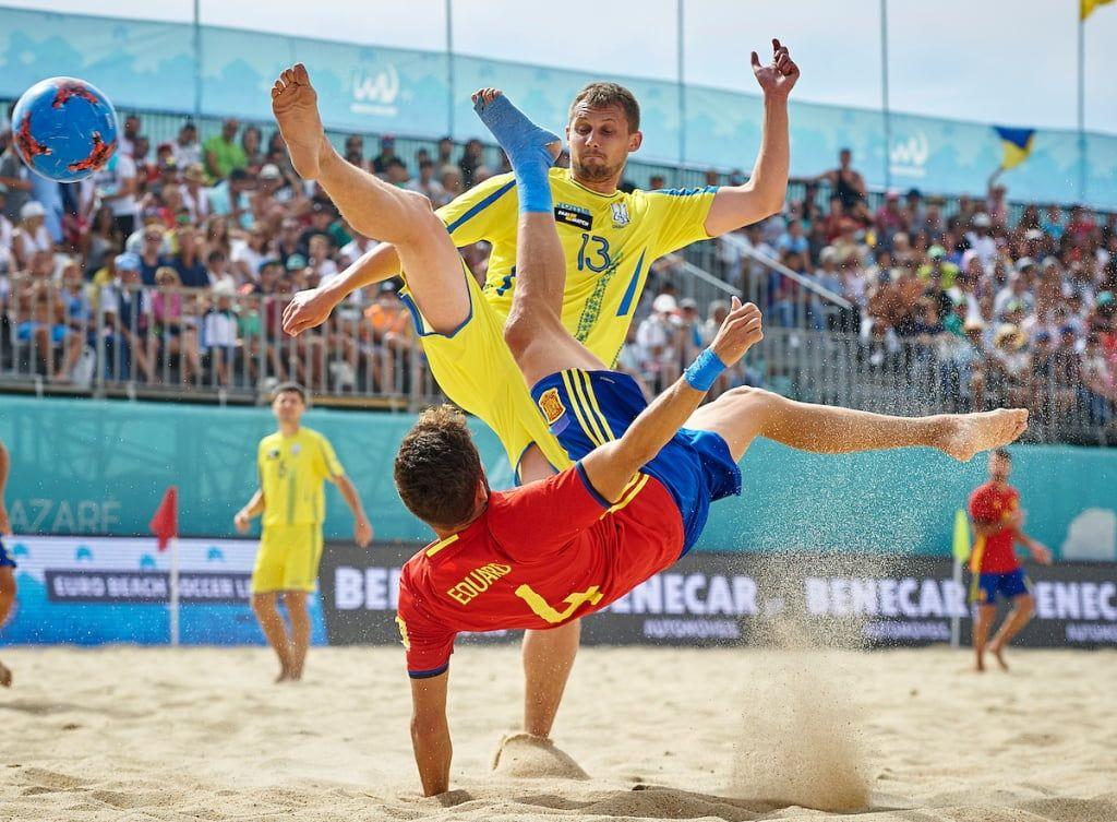 Клуб из Бердянска впервые сыграет в финальной части чемпионата Украины по пляжному футболу