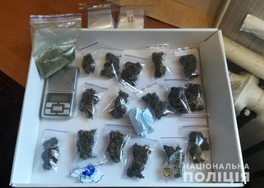 В Бердянську в результаті санкціонованого обшуку у жінки виявили марихуану
