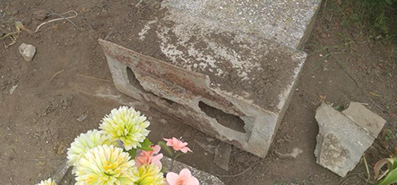 В Бердянську затримано руйнівника могил