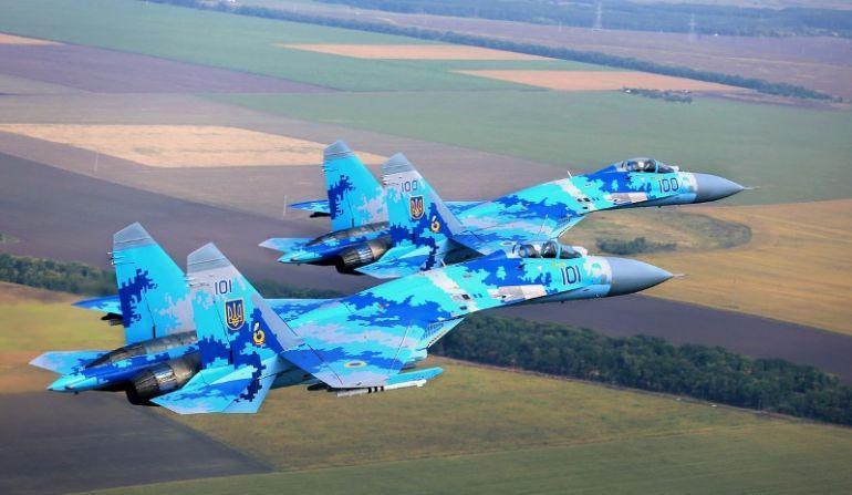 ВВС Украины приведены вбоевую готовность