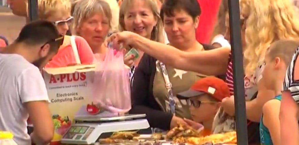 В Бердянске прошел второй фестиваль шашлыка