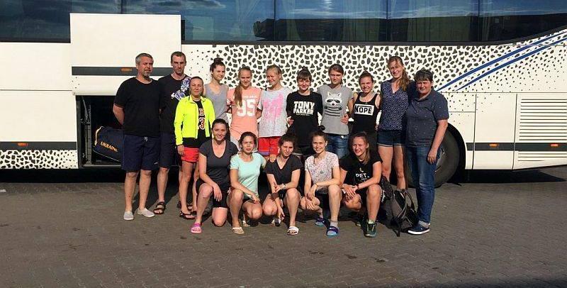 Топчий, Попова и Десятник готовятся к женскому чемпионату Европы по баскетболу U-18
