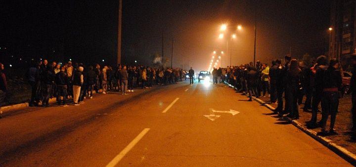 Дорожно-патрульная служба разогнала стритрейсеров на АКЗ