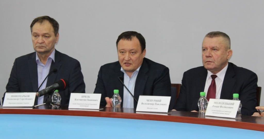 Костантин Бриль побував із робочою поїздкою у Бердянську