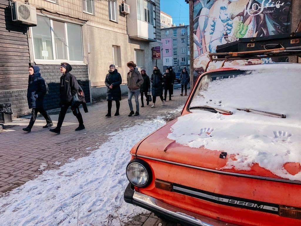 Сучасне мистецтво робили у Бердянську