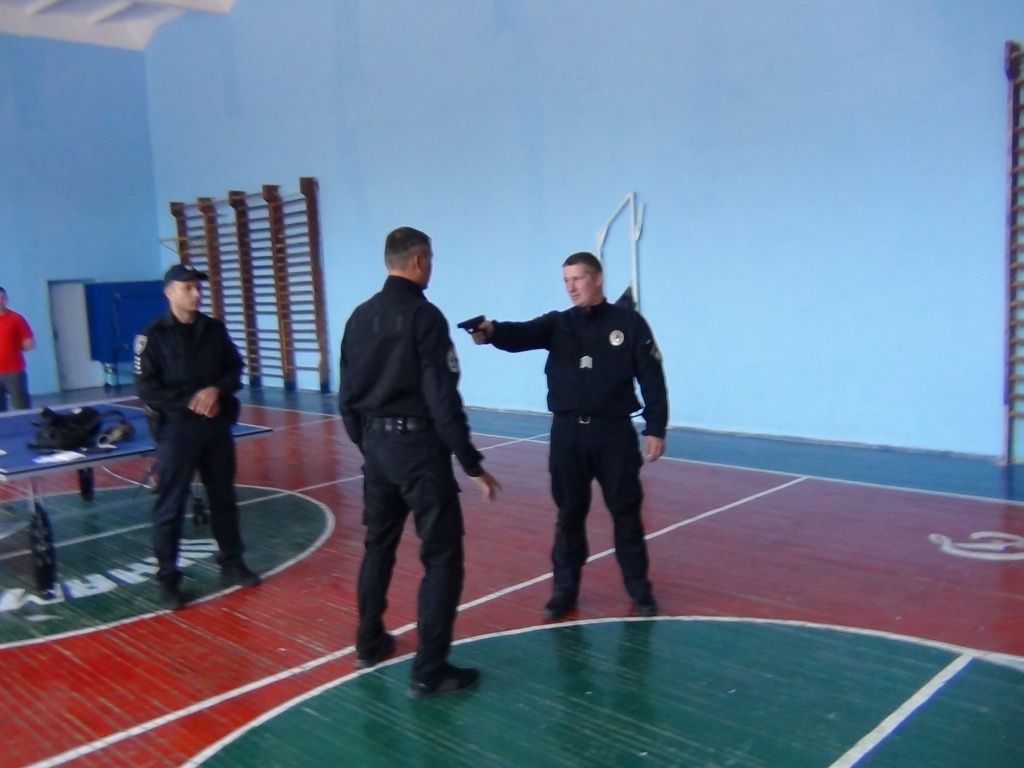 У Бердянську два дня перевіряли рівень підготовки місцевих поліцейських