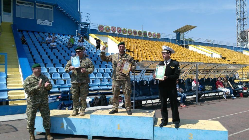 Бердянські прикордонники зайняли 1 місце на чемпіонаті Державної прикордонної служби
