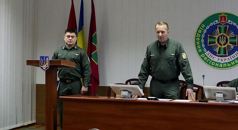 Бердянському прикордонному загоні призначено нового керівника