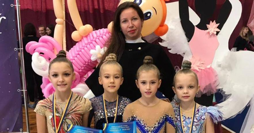 Художні гімнастки впевнено виступили на турнірі в Білій Церкві