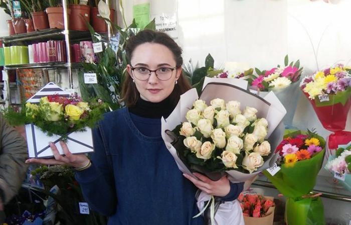 Тюльпан – от 25 грн, роза – 30 - 80 грн. Во сколько обойдется букет к 8 Марта?