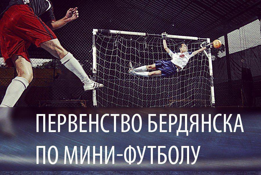 В Бердянске стартует первенство города по мини-футболу