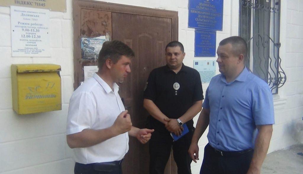 Олег Фомічов провів зустріч з жителями Долинської селищної ради.