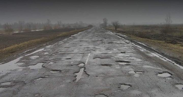 «Укравтодор» обещает летом начать ремонт трассы Васильевка-Бердянск