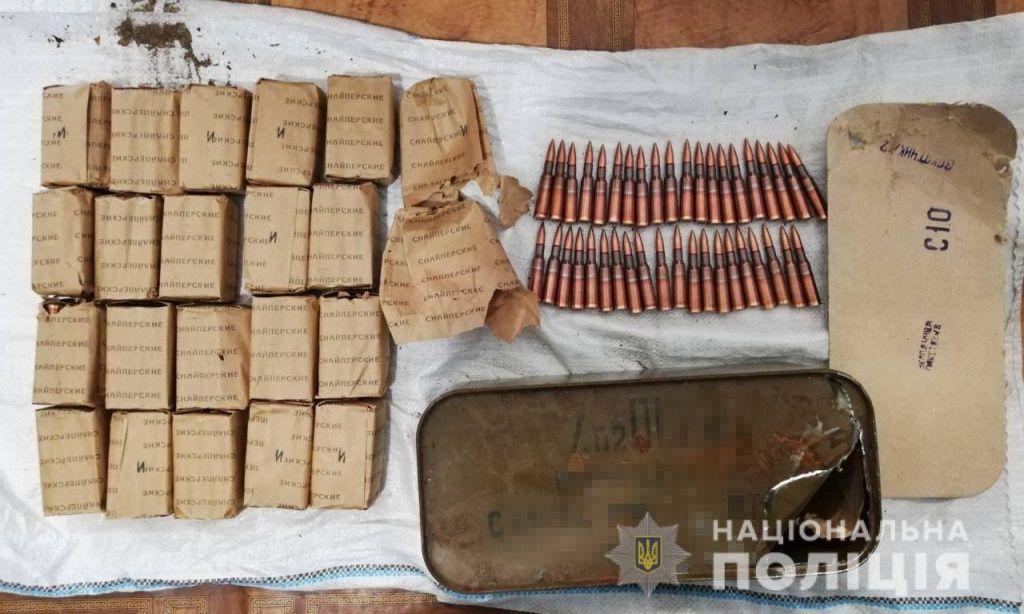 За тиждень бердянці принесли до поліції міну, гранату Ф-1, мисливські рушниці