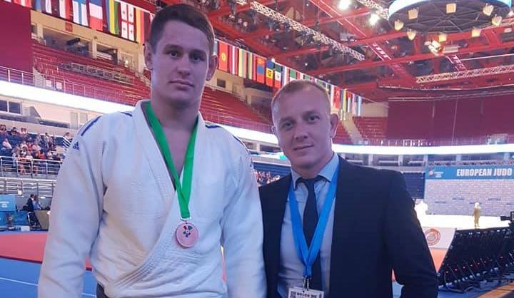 Даниил Гуцол завоевал бронзу на открытом Континентальном Кубке по дзюдо