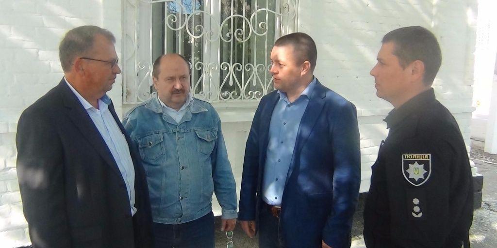 Поліція провела виїзний прийом громадян у с.Осипенко
