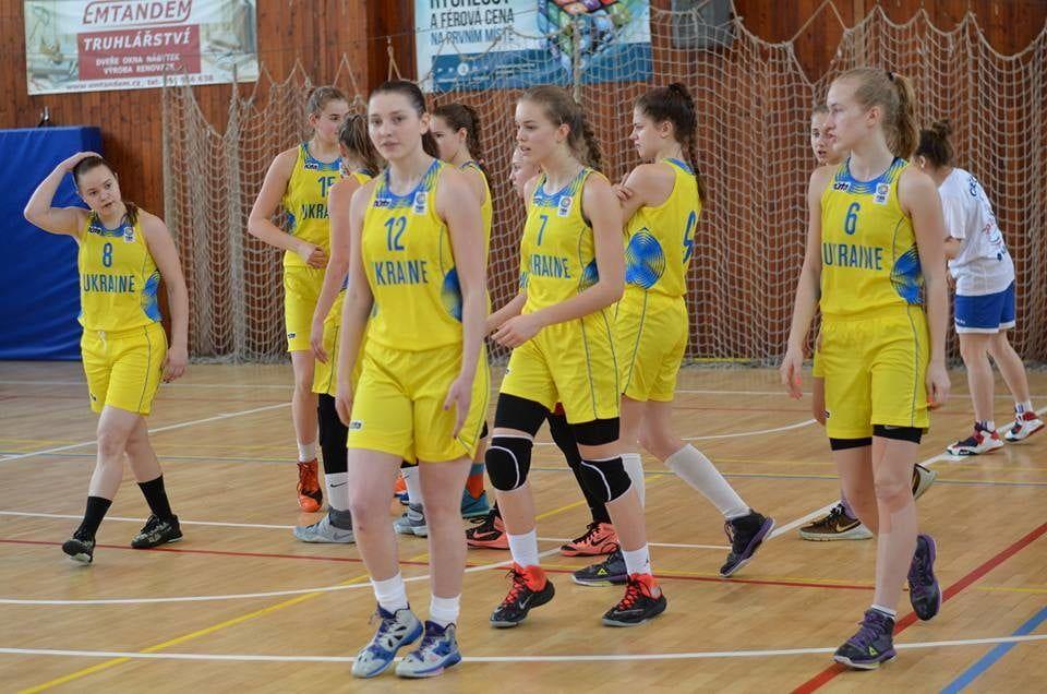 Топчий, Попова и Космач в составе сборной Украины U-16 выиграли турнир в Чехии