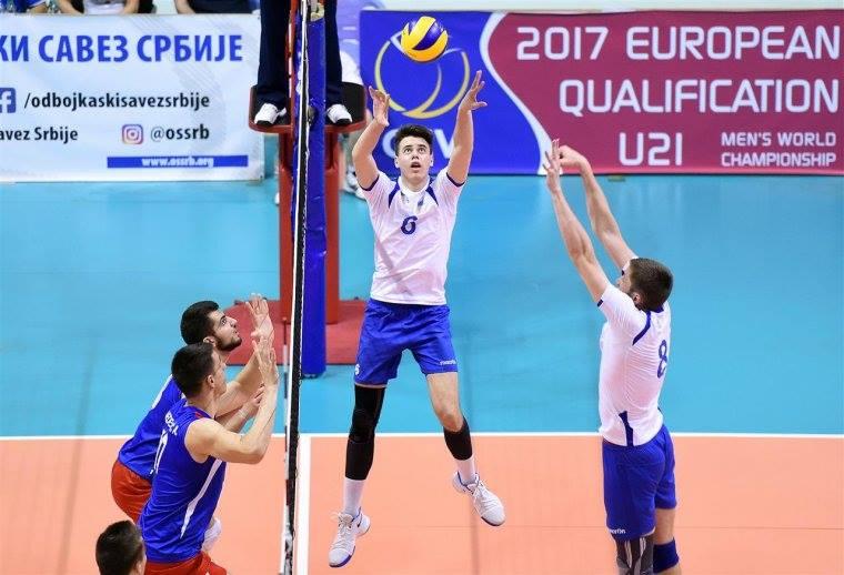 Алексей Головень с партнерами по сборной пробились в финальную часть молодежного чемпионата мира по волейболу