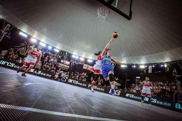 Сборная Украины вышла вфинал чемпионата мира побаскетболу 3х3