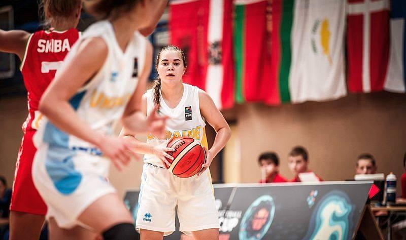 Попова, Топчий и Десятник стартовали на юниорском чемпионате Европы по баскетболу