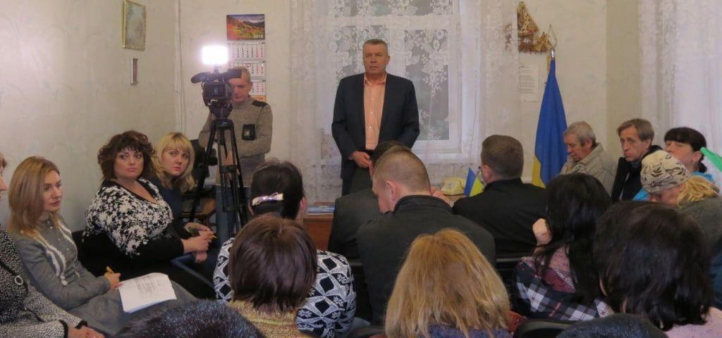 Зустріч міського голови з депутатами Нововасилівської сільської ради
