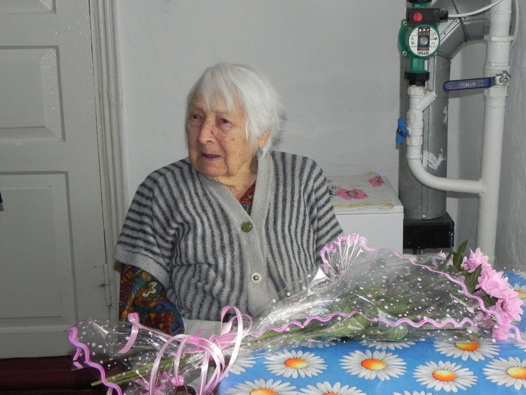Найстарша мешканка Бердянська відсвяткувала своє 104-річчя