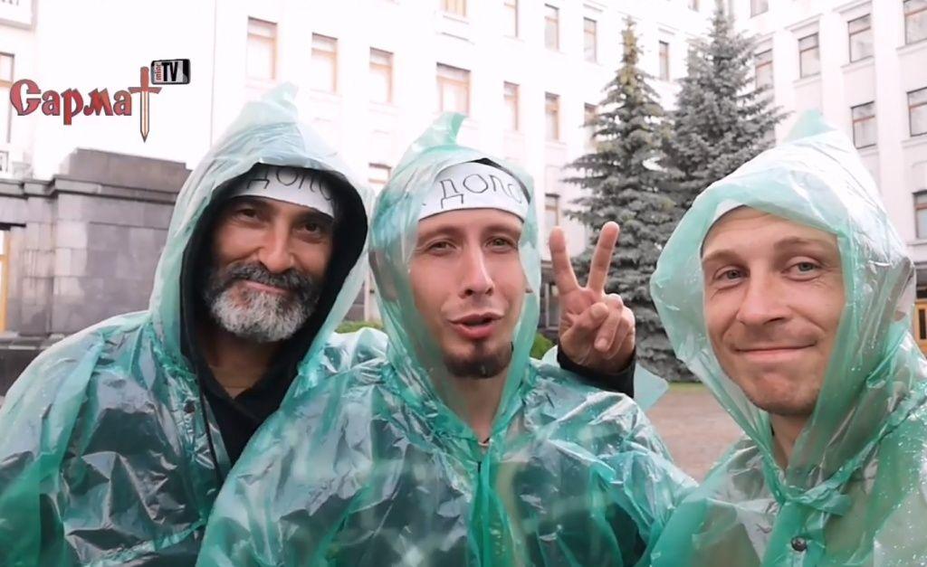 Хроніка протесту: бердянці 7-й день голодують під Офісом Президента