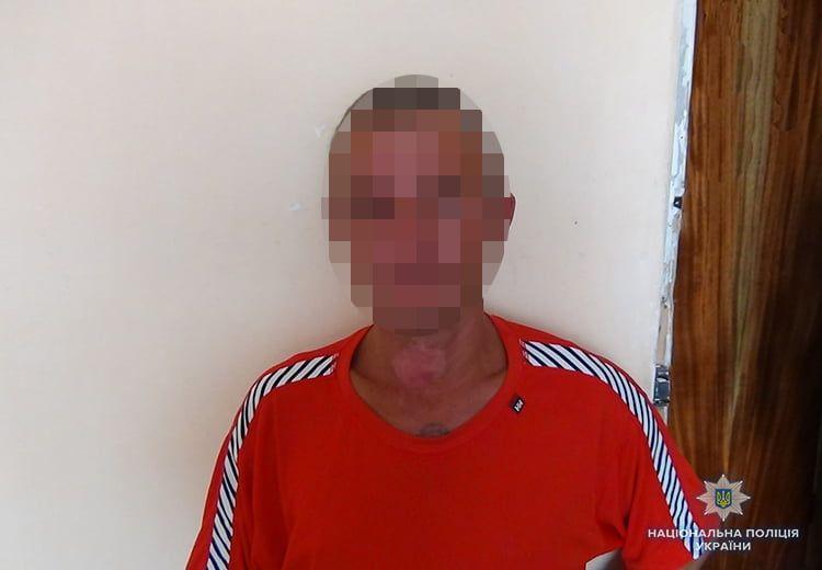 Бердянські поліцейські групи реагування затримали грабіжника