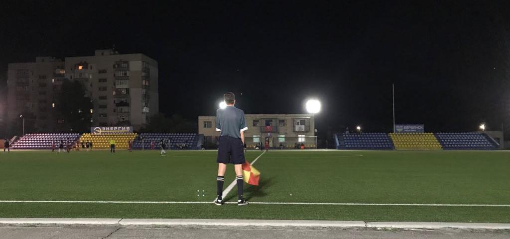 Чемпионат Бердянска по футболу. Тур №1