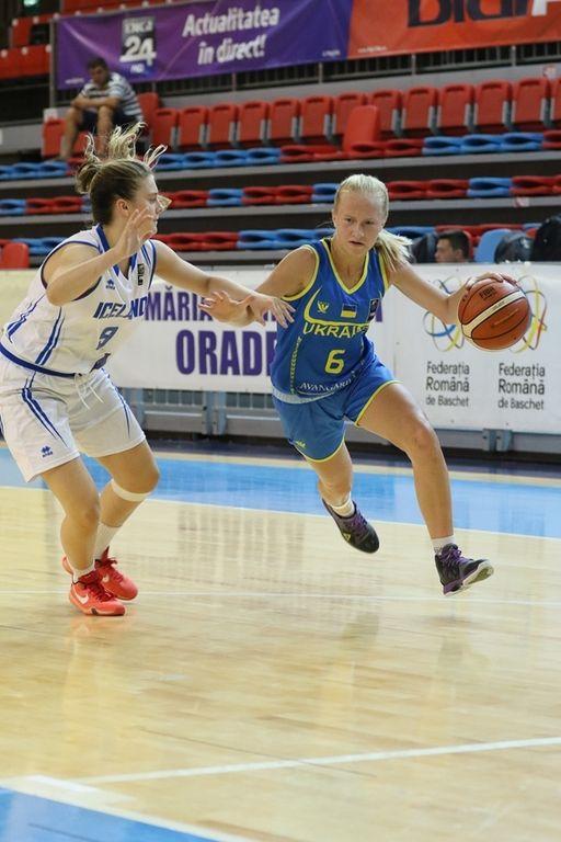 Женская сборная Украины по баскетболу U16 отыграла групповой этап чемпионата Европы в Румынии