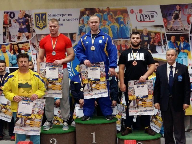 Александр Титаренко и Руслана Краснова стали чемпионами Украины по пауэрлифтингу среди юниоров