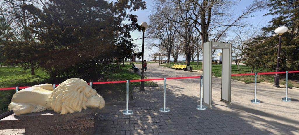 В місцях скупчення людей в Бердянську посилять заходи безпеки