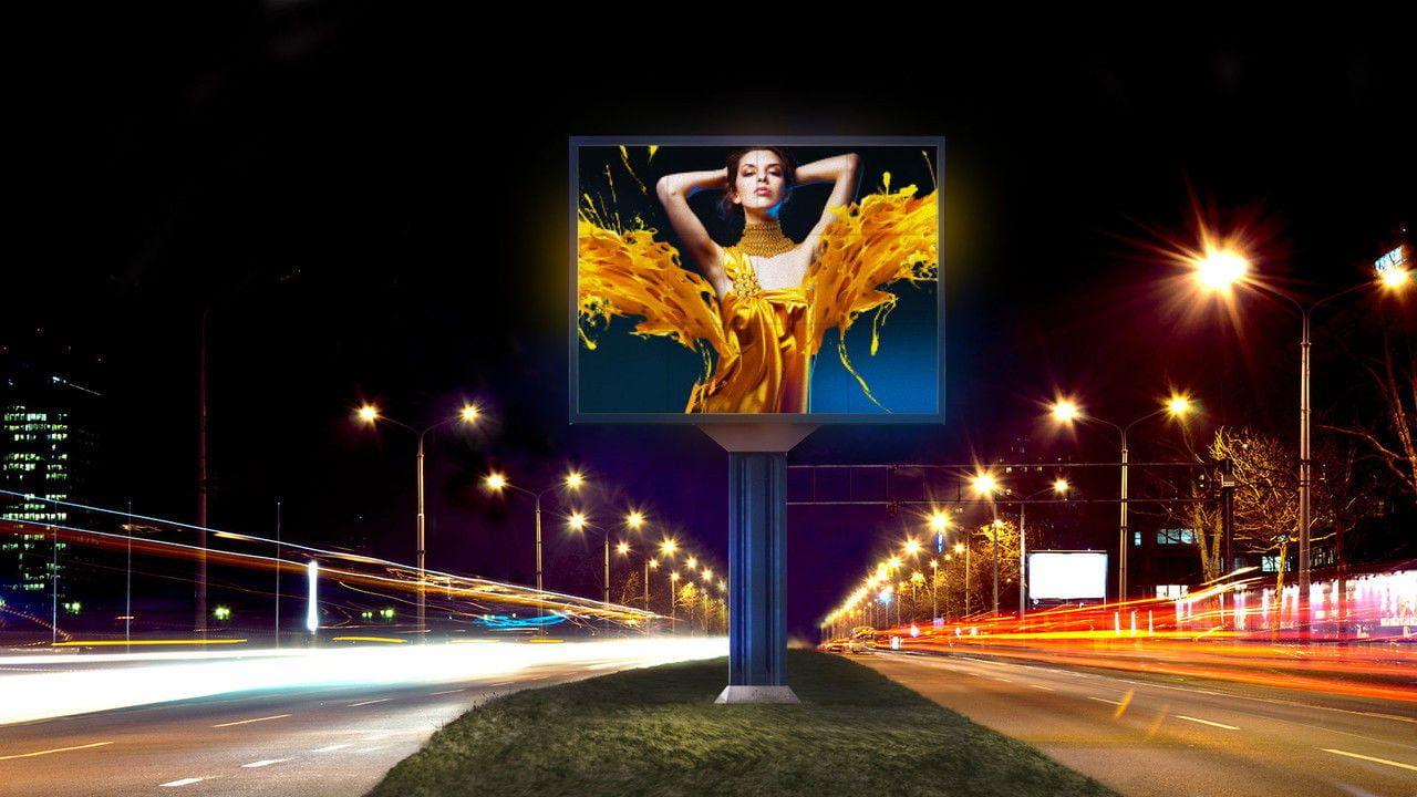 Уличный светодиодный экран led