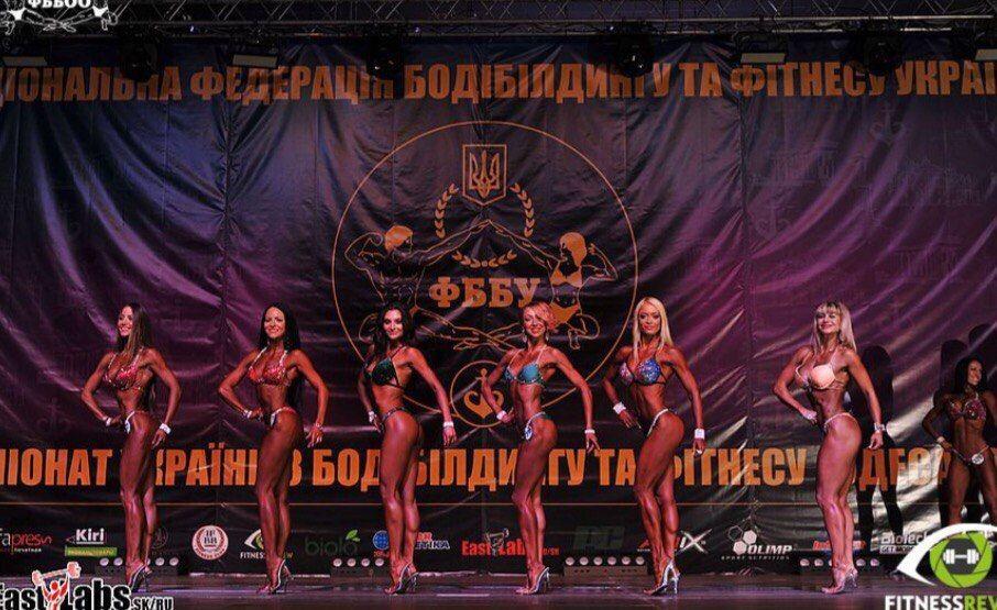 Евгения Самойлова вошла в Топ-10 Украины в категории фитнес-бикини